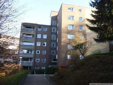 Gemütliche 3-Zimmer-Eigentumswohnung mit 80qm in Homberge, mit Loggia und Garage
