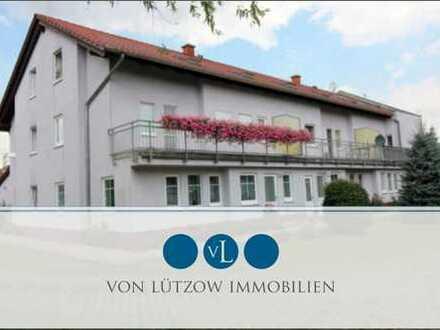 Traumwohnung - 3-Raum-Wohnung im Erdgeschoss l Maisonette - hell mit Balkon, Badewanne, Gäste-WC