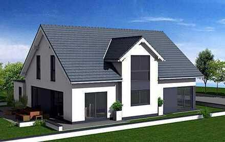 Individuelles ARTOS Architektenhaus mit Wärmepumpe und Fußbodenheizung