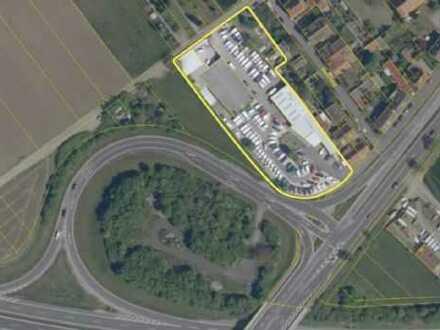 Ihre INVESTITION in die ZUKUNFT - Bebautes AREAL an der A70 Ausfahrt SW-Oberndorf zu verkaufen