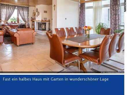 RESERVIERT Elegantes Wohnen auf 2 Ebenen ca. 160m² WFL - 7 Zi. - mit Garten +Garage