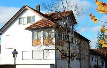 Wohnen visavis Schloß Steinbach Wernau! Maison.-Whg.,Sauna,2Bäder,4Schlafz.,Ebk.,2Balkone,Terrasse…