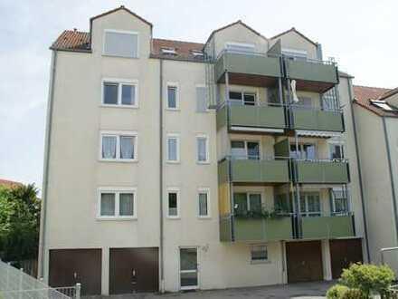 Gepflegte 2-Zimmer-Dachgeschosswohnung