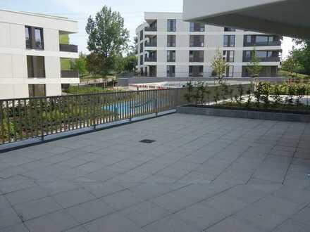 Eigentumswohnung mit riesiger Terrasse neu für Sie gebaut!