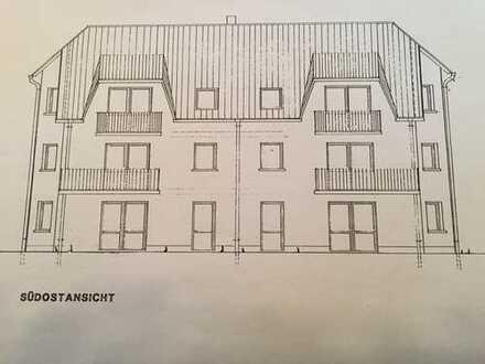 Gepflegte 2,5-Zimmer-Dachgeschosswohnung mit Balkon in Stockheim