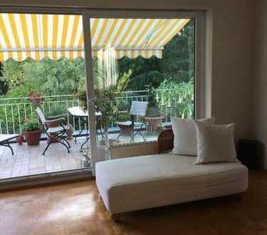 Kurzzeitvermietung: lichtdurchflutete 3-Zimmer-Wohnung mit Balkon und EBK in ruhiger Wohnlage