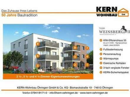 Verkaufsstart! 2,5 Zi.Erdgeschoss-Wohnung mit Terrasse und Gartenanteil WHG_01