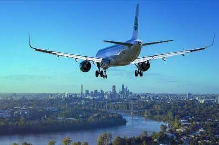Airport-Hotel mit Entwicklungspotenzial