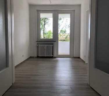 Frisch sanierte Wohnung mit Blick ins Grüne