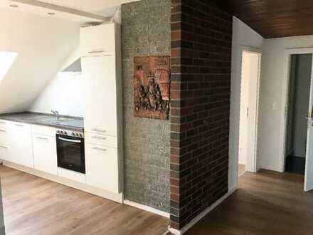 Erstbezug nach Sanierung: stilvolle 3-Zimmer-DG-Wohnung mit EBK in Ulm-Mitte