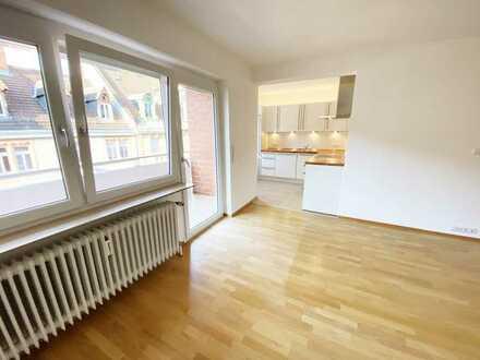 HD-Weststadt: Schöne 3-Zimmerwohnung in der Blumenstrasse mit TG-Stellplatz