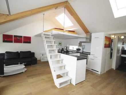 DG-Wohnung mit Loggia und Galerie