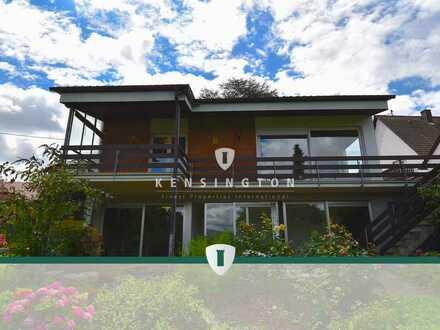 Gepflegtes Einfamilienhaus mit großzügigem Garten und tollem Weitblick