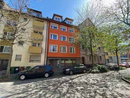 Gut vermietete 2-Zi. Wohnung im EG nahe Kinderklinik mit großer Terrasse