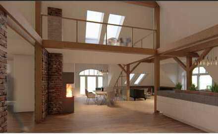 Reserviert: 5-Zimmer-Loft mit Balkon zum individ. Ausbau Provisionsfrei