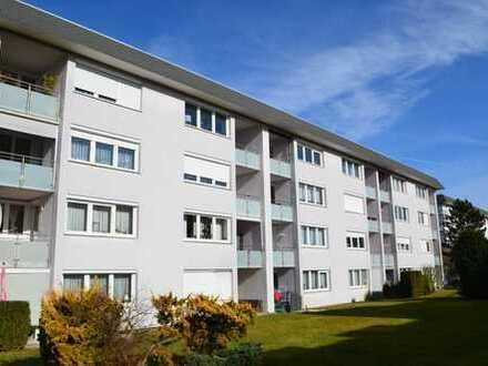Praktische 2-Zimmer-Wohnung mit Südbalkon