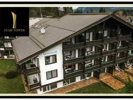 Atemberaubendes Hotel direkt am Fuße der Zugspitze