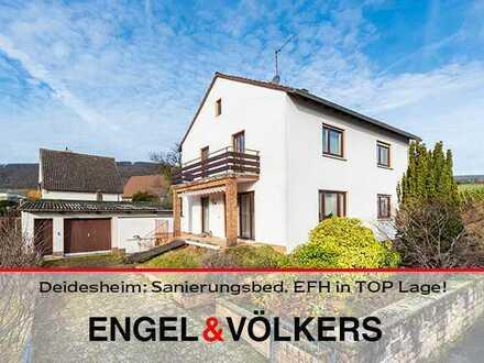 Deidesheim: Sanierungsbed. EFH in TOP Lage auf Grdst mit viel Potential!