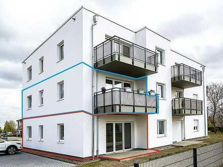 Nauen! Bezugsfreie Eigentumswohnung (Erstbezug) in einer modernen, neu errichteten Wohnanlage