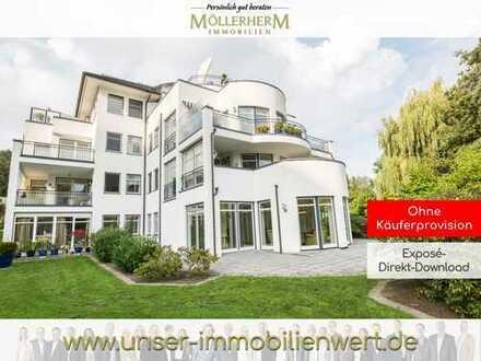 Wohnen in der Kurpark Residenz Riesebusch - Exklusive Wohnung in Parkanlage von Bad Schwartau