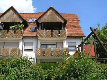 Gepflegte und stillvolle 3,5-Zimmer-Maisonette-Wohnung mit Dachterrasse und Einbauküche in Malmsheim