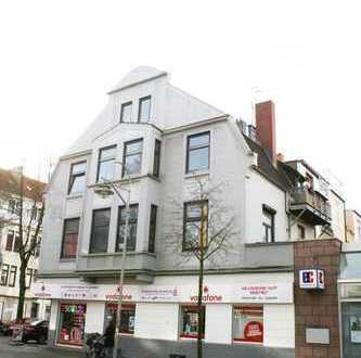 Neustadt! Beliebte Lage: Pappelstr., Ideal für die Wohngemeinschaft: 4 Zi-Whg + groß. Küche + Balkon