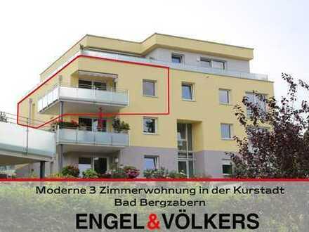 Moderne 3-Zimmerwohnung in der Kurstadt