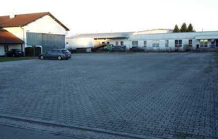Halle in TOP-Lage mit großzügigem Büro- und Sozialtrakt und 1500 qm Aussenfläche -PROVISIONSFREI!-