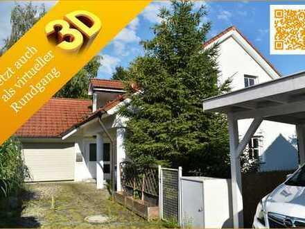 Großzügiges Architekten-Haus in ruhiger Lage in Brunnthal bei München