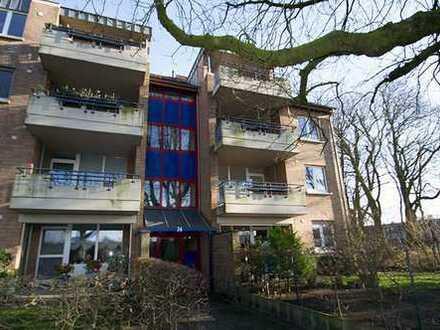 Direkt am Park: Hübsche 2 Zimmerwohnung mit Südwest-Balkon
