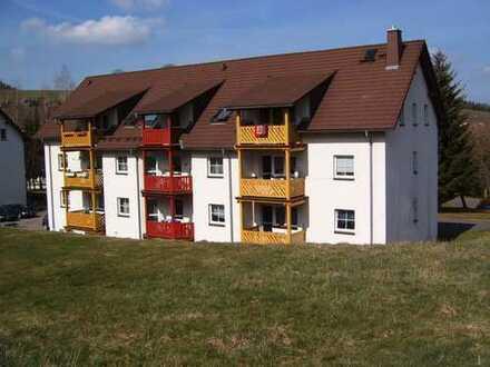 3-Raum-Wohnung mit Balkon + Gäste-WC - ideal für Familien