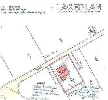 Bauplatz mit Abrissgebäude in Alleinlage