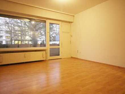 Helle 1-Zimmer-Wohnung mit Balkon im Heideviertel!