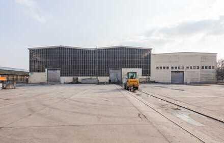 Halle für Lager, Produktion & Logistik (ca. 7.600 m²)