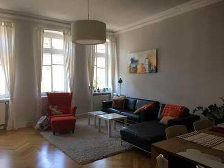 130qm große sanierte Altbau Wohnung in der Weststadt - von privat