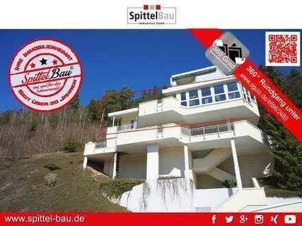 Sonnenverwöhnte 4,5 Zimmer Wohnung in toller Aussichtslage von Lauterbach zu verkaufen!
