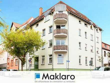 Ihr neues Zuhause in bester Lage -  Maisonette-Eigentumswohnung mit Balkon und Loggia