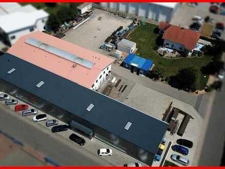 Neustart für Ihr Unternehmen. Zwei neuwertige Produktionshallen mit Einfamilienhaus !!!