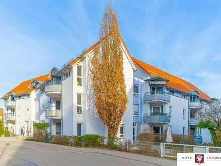 Schöne 2-Zimmerwohnung mit Balkon in Seniorenresidenz