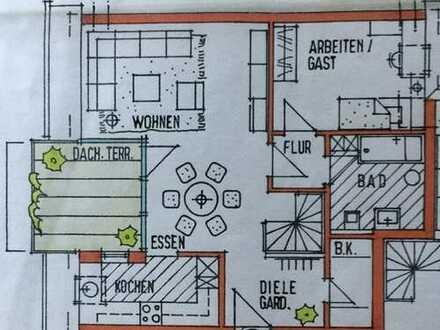 Von Privat: Helle 4 ZKB Wohnung über zwei Etagen