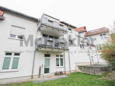 Modernes Wohnen - Neuwertige, helle 2-Zi.-Wohnung mit 2 Balkonen!
