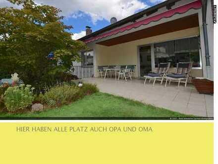 Gemütlicher BUNGALOW mit Erweiterungspotenzial +++ BEHEIZTE Garage +++TRAUMHAFTER Garten