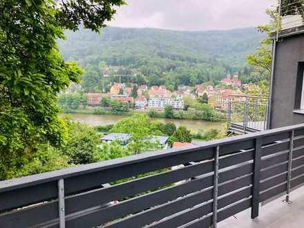 NECKARBLICK - Erstbezug nach Sanierung: exklusive 3-Zimmer-Wohnung mit Balkon in Heidelberg