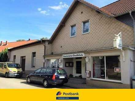 Ehemalige Gaststätte mit Nebenräumen und einer Wohneinheit in Neindorf