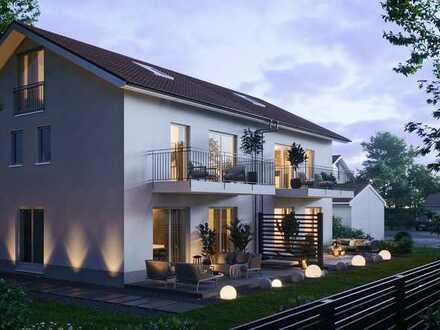 Erstbezug einer modernen Doppelhaushälfte im April 2022
