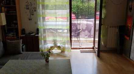 *BEVORZUGTE WOHNLAGE! 1-Zi.-Wohnung mit 32m² in SON-Hönbach mit Stellplatz und Balkon!*