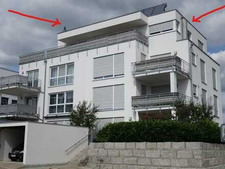 Neuwertige Penthouse-Wohnung mit 4,5 Zimmern in Abtsgmünd