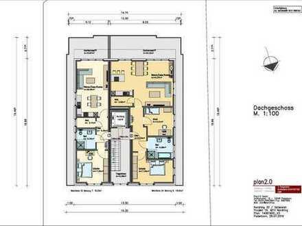 Moderne, hochwertige 3-Zimmer-Penthauswohnung, GT-Innenstadt, Fahrstuhl, Dachterrasse, Stellplatz