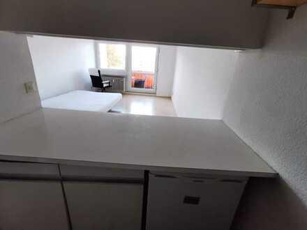 Rammersdorf, provisionsfreiToplage, gepflegte 1-Zimmerwohnung mit Terrasse und Garage, oberer Duplex