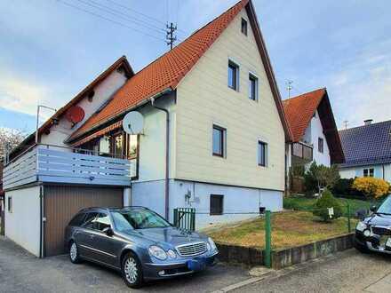Erstbezug nach Sanierung: ansprechende 4-Zimmer-Doppelhaushälfte in Simmozheim, Calw (Kreis)